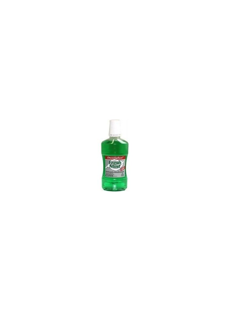 Dentiplus Freshmint Alkolsüz Taze Nane Aromalı Ağız Çalkalama Suyu 500 ml