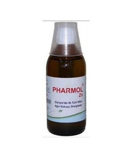Pharmol ZN Ağız Kokusu Giderici Gargara Çinko Klorit 200 ml Alkolsüz