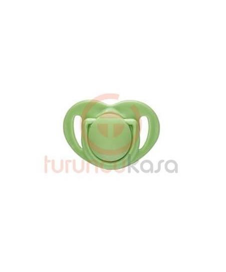 Mamajoo Silikon Damaklı Emzik 12 Ay Yeşil