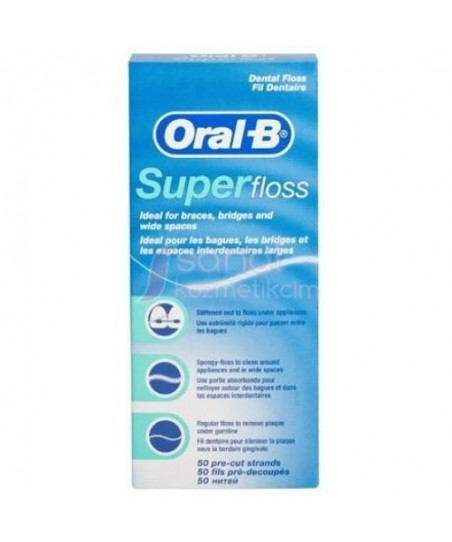 Oral-B Super Floss Diş İpi