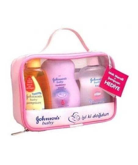 Johnsons Baby İyiki Doğdun Bebek Paketi Pembe