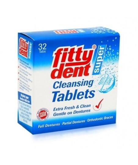 Fittydent Diş Protezleri Temizleyici 32 Tablet