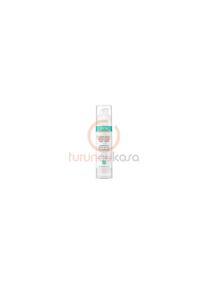 Ren Clearcalm 3 Replenishing Night Serum 50 ml