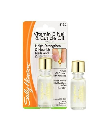 Sally Hansen Vitamin E Moisturizing Nail & Cuticle Oil