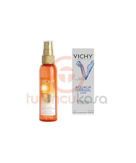 Vichy Capital Soleil Body Oil spf 20 125 ml + Aqua Thermal Legere 40 ml Hediyeli