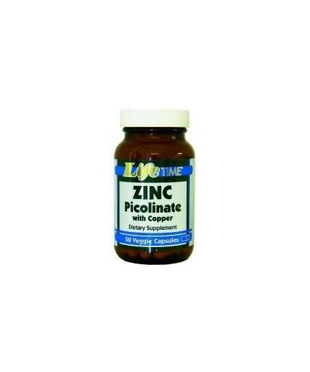 LifeTime Zinc Picolinate With Copper 50 Kapsül