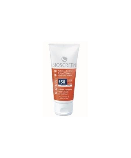 Ingrid Millet Bioscreen SPF 50+ Face Cream (Hassas Ciltler İçin Güneş Koruyucu)