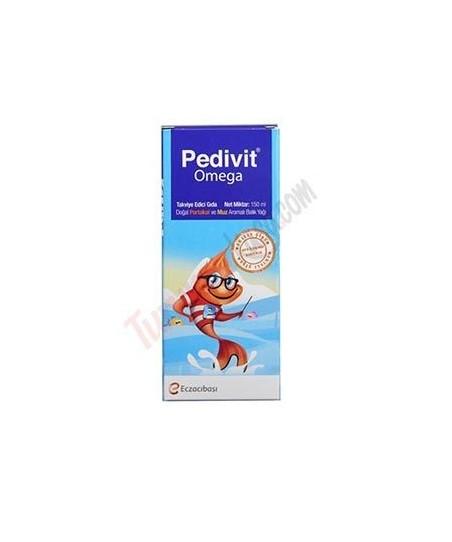 Pedivit Omega Meyve Aromalı Balık Yağı Şurup