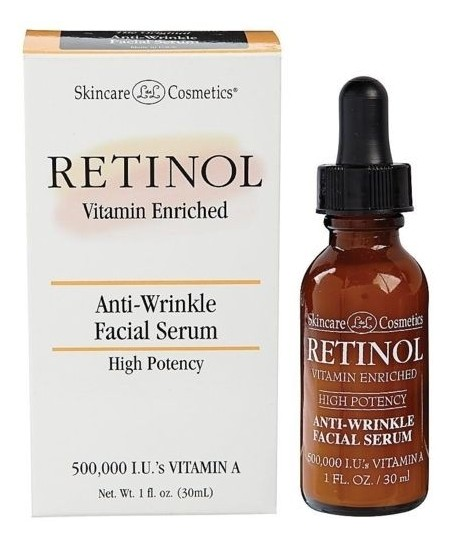 Retinol Anti Wrinkle Facial Serum - 30 ml Yüz Serumu