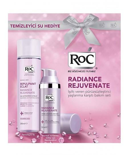 RoC Radiance Rejuvenate Normal-Karma Krem + Temizleyici Su Hediyeli