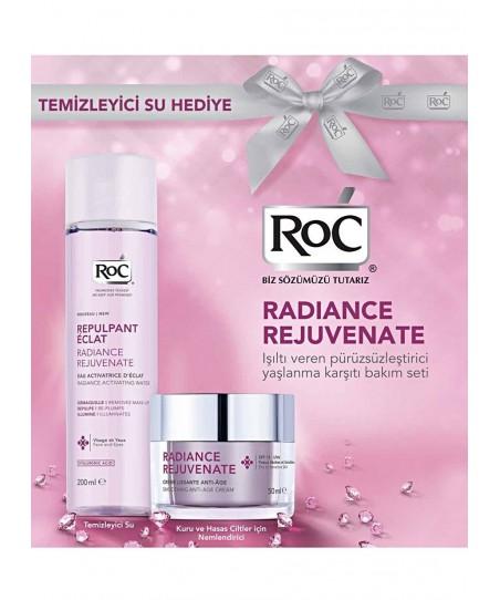 RoC Radiance Rejuvenate Kuru ve Hassas Cilt + Temizleyici Su Hediyeli