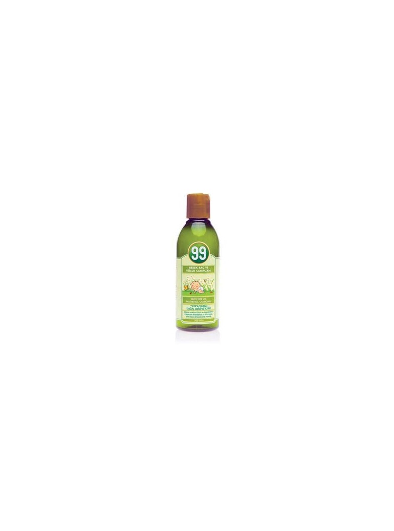 99 Bebek Saç ve Vücut Şampuanı 200 ml