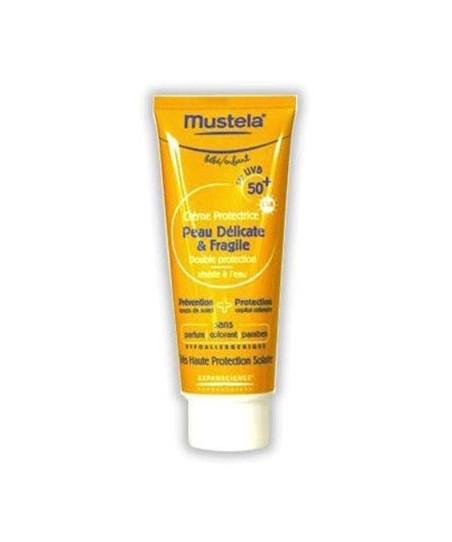 Mustela Delicate-Fragile Skin spf 50 Güneş Kremi 75 ml
