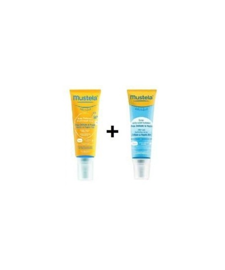 Mustela SPF 50+ Spray + After Sun Spray 125 ml
