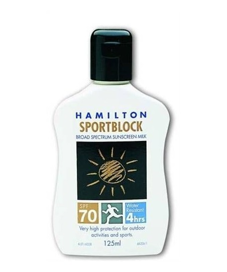 Hamilton Sportblock Spf 70 125ml