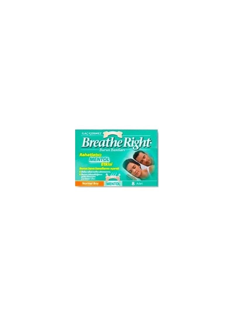 Breathe Right Burun Bandı Menthol Normal Boy