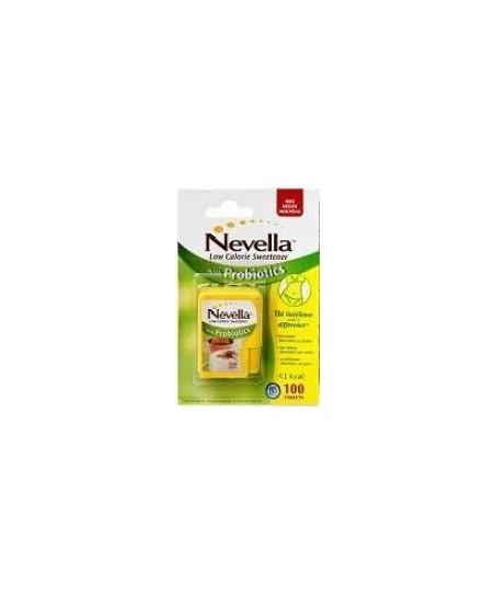 Nevella Probiyotik İçerikli Tatlandırıcı 100 Tablet