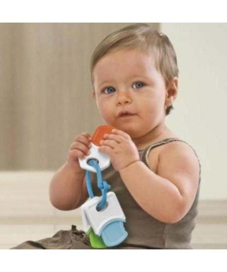 Chicco İlk Anahtarlarım Diş Kaşıyıcı Çıngırak