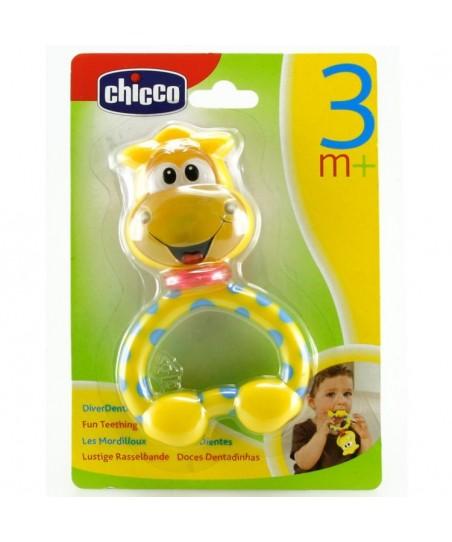 Chicco Komik Zürafa Diş Kaşıyıcı Çıngırak