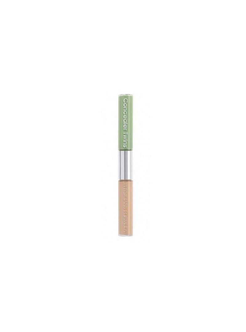 Physicians Formula Concealer Twins Cream Green Light (3055) Spf10-2 Renkli Concealer