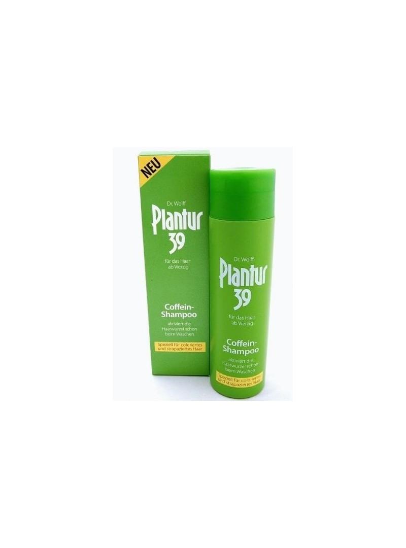 Plantur 39 Şampuan Boyalı ve Stres Altındaki Saçlar İçin Caffeine Shampoo 250 ml