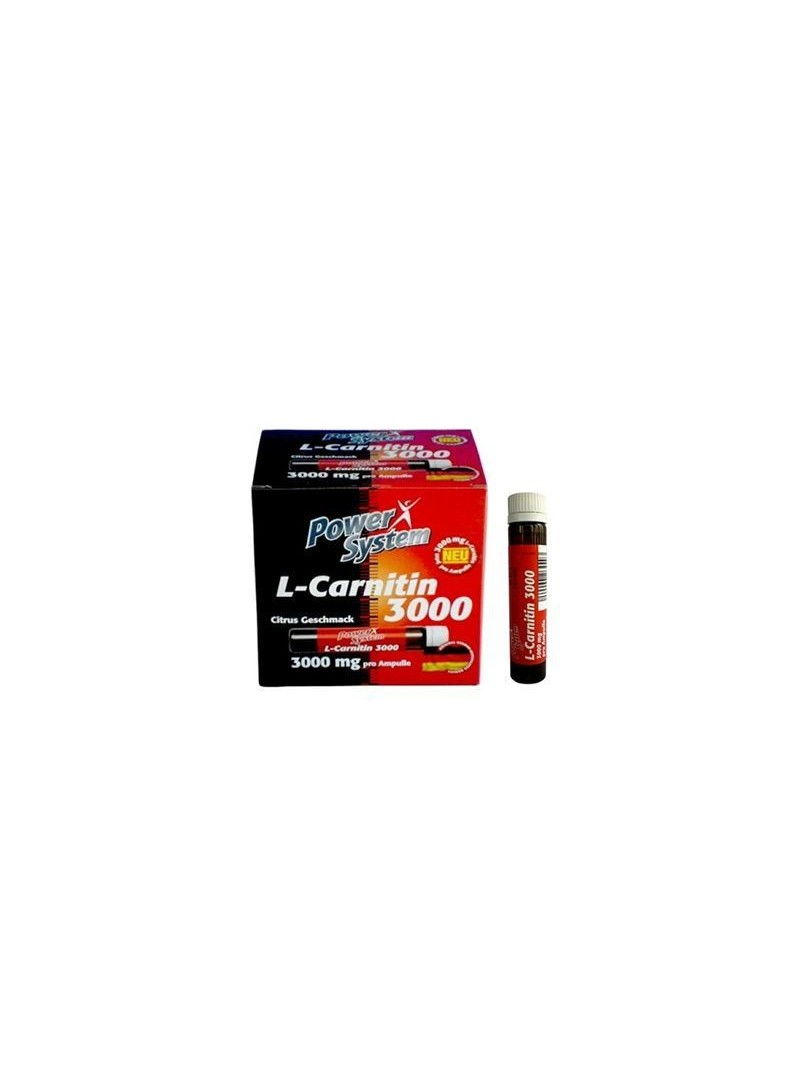 Power System L-Carnitine 3000 mg 20 ampul 25 ml
