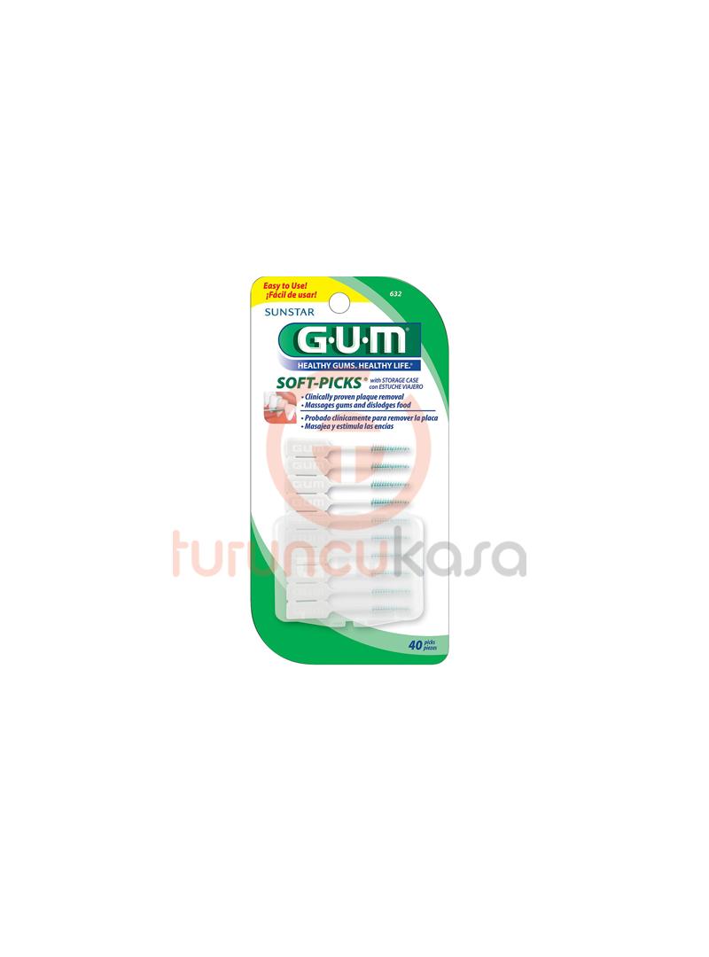 GUM Soft-Picks Fluoride Arayüz Fırçası Large 40Adet