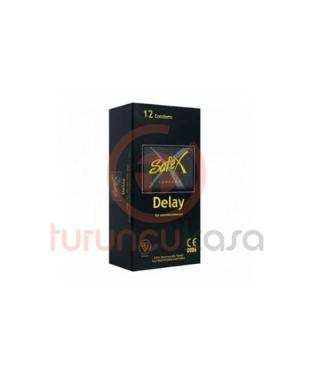 Safex Delay Geciktirici Kremli Prezervatif 12li