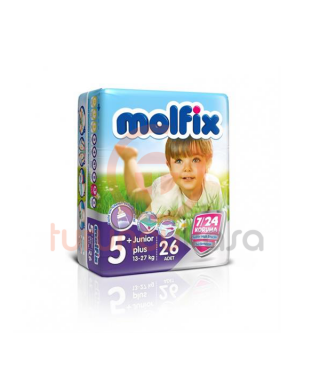 Molfix 4X4 Uyum İkiz Junior Plus No:5+ 26 Adet