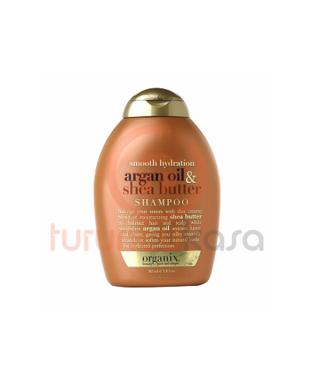 Organix Argan Oil Shea Butter Shampoo Yatıştırıcı Argan Oil Shea Butter Şampuan