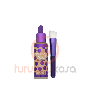 Physıcıans Formula Youthful Wear Spotless Foundation & Brush SPF 15 Light - Fırçalı Fondöten