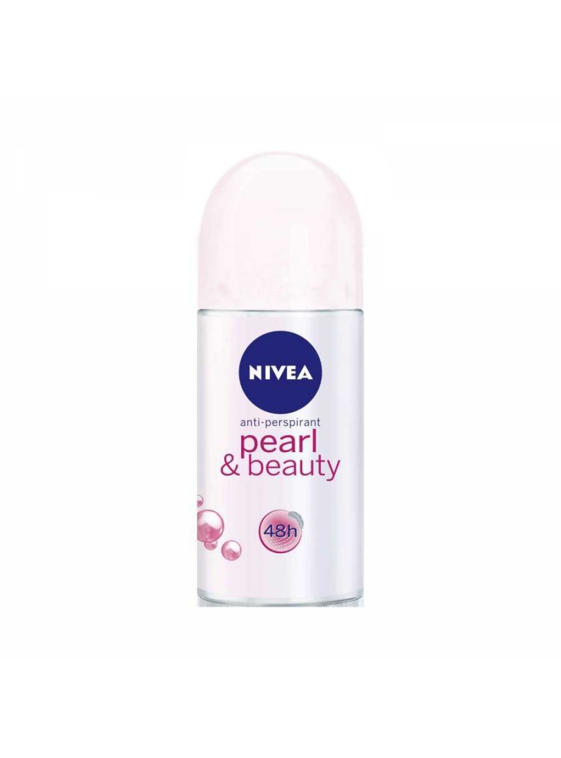 Nivea Deo Roll-On 50 ml Pearl & Beauty Bayan
