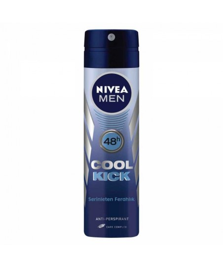 Nivea For Men Cool Kick Spray Deodorant 150 ml