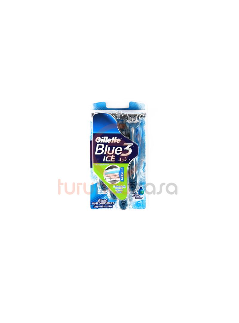 Gillette Blue 3 Ice Kullan-At Tıraş Bıçağı 6 lı