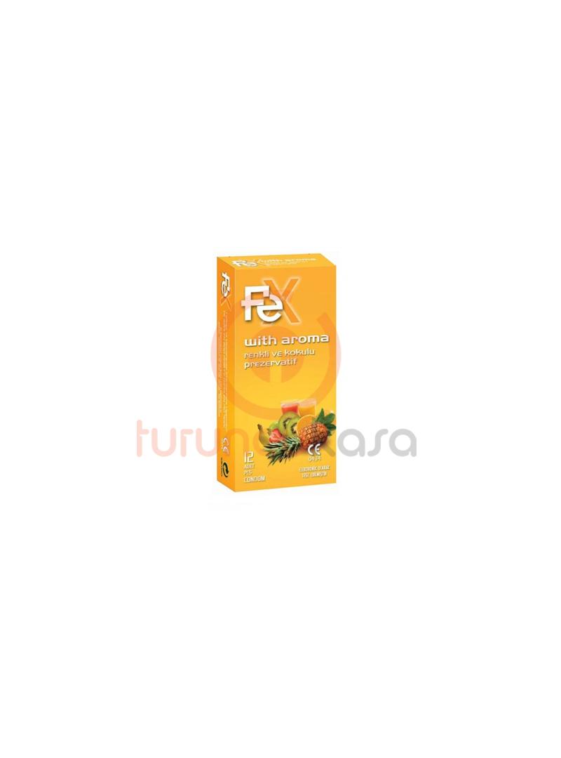 Fe Ultra Aroma Renkli ve Kokulu 12'li Prezervatif