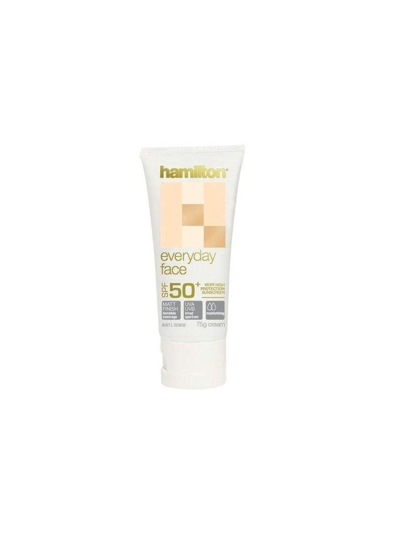 Hamilton Everyday Face Spf50+ Yüz için Güneş Koruyucu Krem 75gr