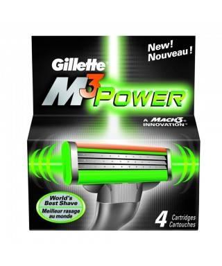 Gillette M3 Power Yedek Bıçak 4'lü