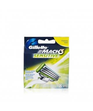 Gillette Mach3 Sensitive Yedek Bıçak 8'li