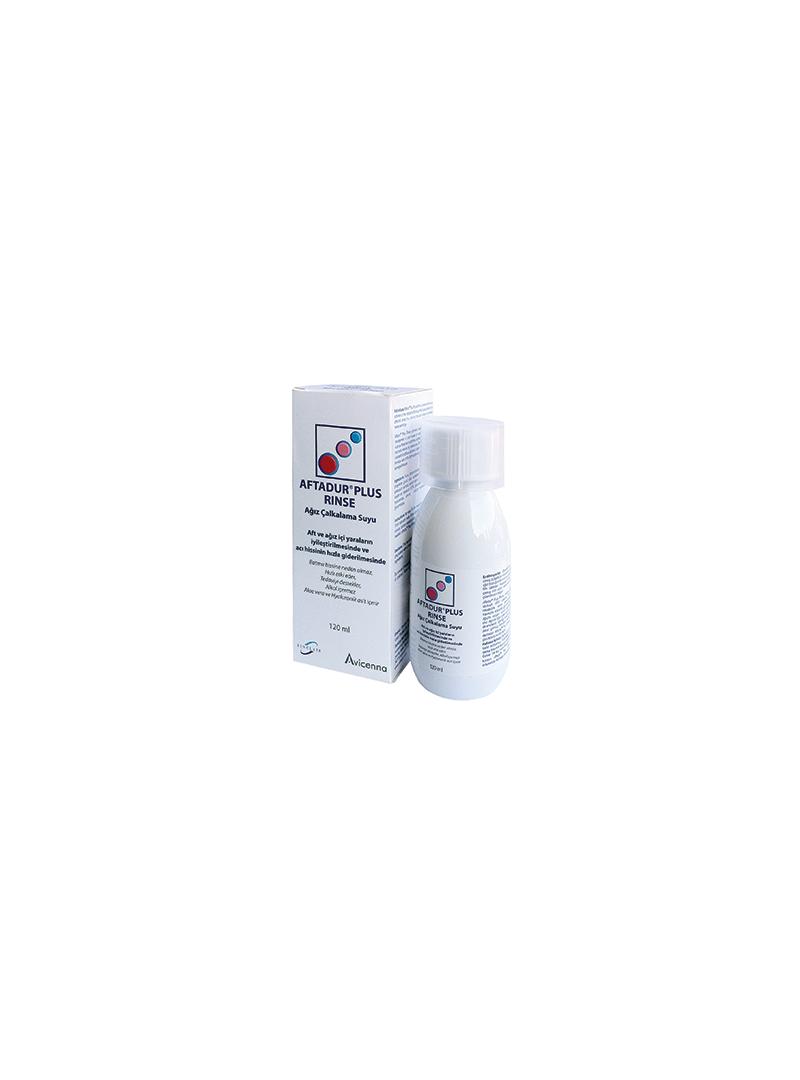 Aftadur Plus Rinse Ağız Çalkalama Suyu 120 ml
