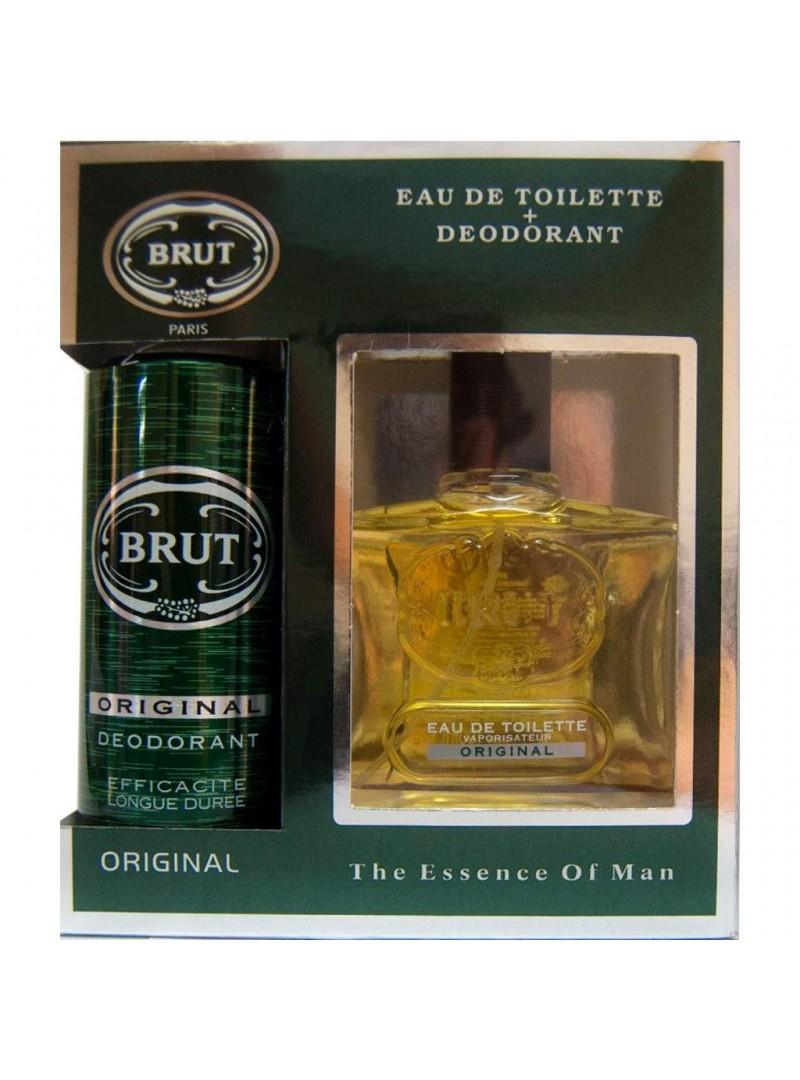Brut The Essence Of Man Original EDT 100ml + Deo Spray 200ml
