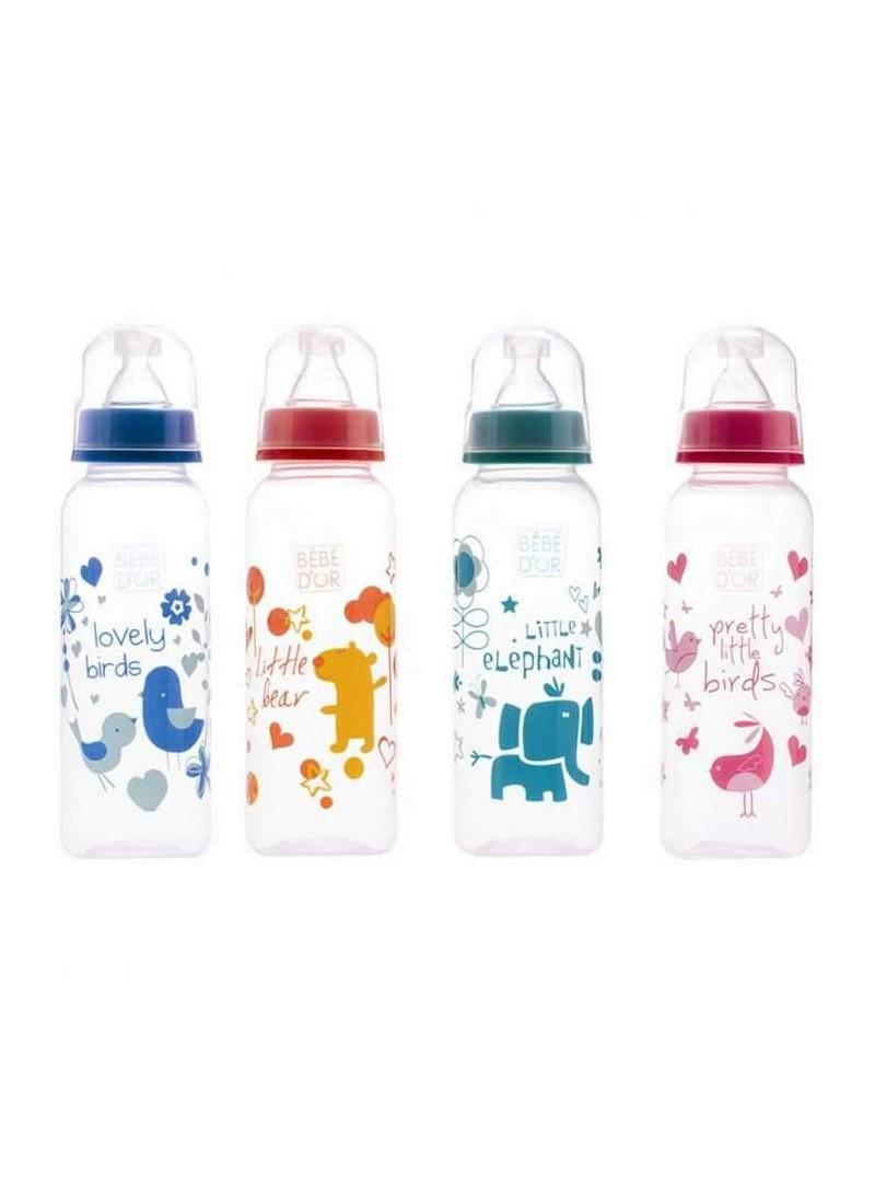 Bebedor Biberon Plastik 250 ml Emzik Hediyeli