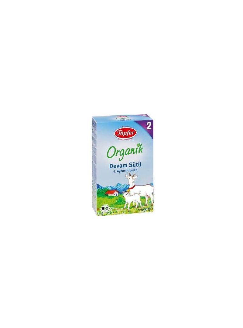 Töpfer 2 Organik Devam Sütü 400 gr.