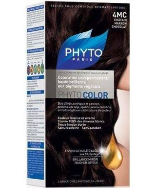Phyto Color Saç Boyası 4MC Çikolata Kahve (Chatain Marron Chocolat)