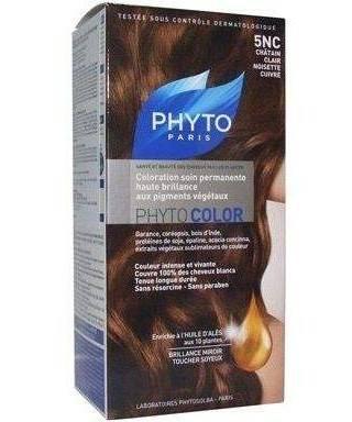 Phyto Color Saç Boyası 5NC Açık Bakır Kestane (Chatain Clair Noisette Cuivre)