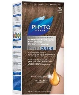 Phyto Color Saç Boyası 7D Dore Sarı (Blond Dore)