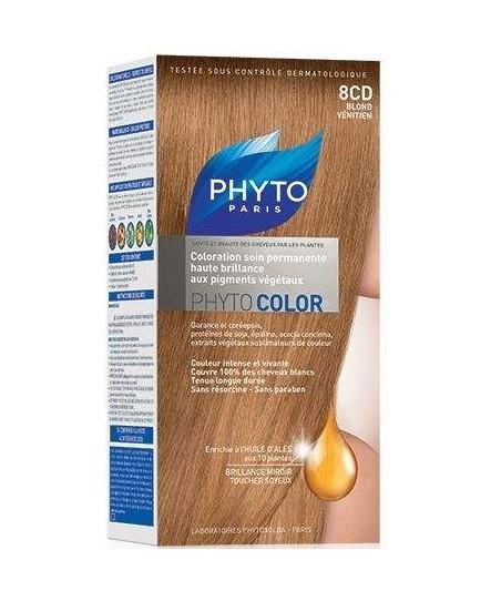 Phyto Color Saç Boyası 8CD Kızıl Sarı (Blond Venitien)