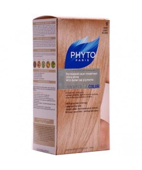 Phyto Color Saç Boyası 9 Çok Açık Sarı (Very Light Blond)