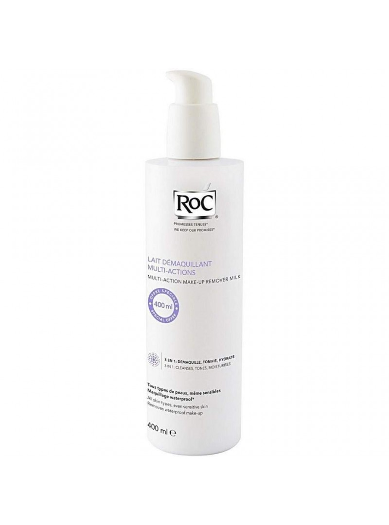 Roc Hydra+Cleansing Care 3en 1 400ml