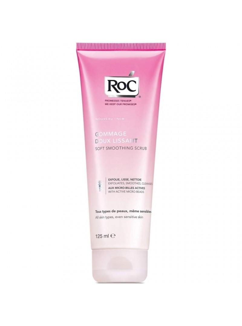 Roc Soft Smoothing Facial Scrub 125ml