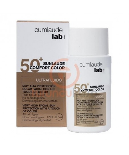 Cumlaude Lab Sunlaude SPF 50+ Comfort Color 50 ml